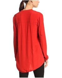 BOSS Orange | Red Blouse 'ejustere_3' In Viscose | Lyst