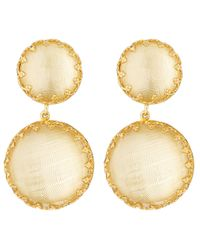 Larkspur & Hawk - Yellow Topaz Olivia Drop Earrings - Lyst
