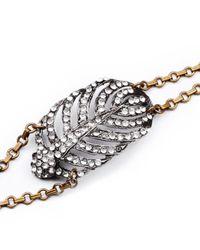 Lulu Frost | Natural Silvertone Drift Bracelet | Lyst