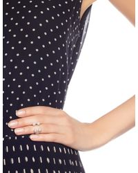 Maria Stern | Metallic Silver Four Pearl Ring | Lyst