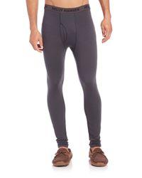 Helly Hansen - Gray Merino Wool Pants for Men - Lyst