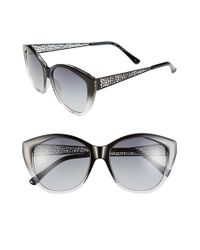 BCBGMAXAZRIA | Black 56mm Sunglasses | Lyst