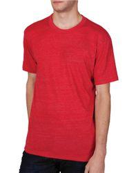 Alternative Apparel | Blue Eco Crew T-shirt for Men | Lyst