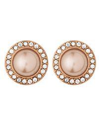 Dyrberg/Kern | Pink Pearlia Earpost | Lyst