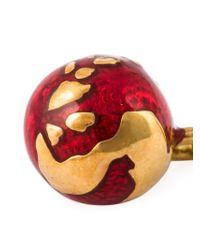 True Rocks - Metallic 'globe' Earrings - Lyst
