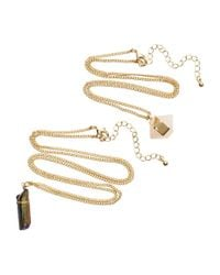 H&M | Metallic 2-pack Necklaces | Lyst