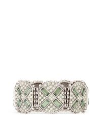 Philippe Audibert | Green Juline Ethnic Cross Bracelet | Lyst
