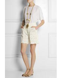Dolce & Gabbana - Metallic Goldtone Coin Necklace - Lyst