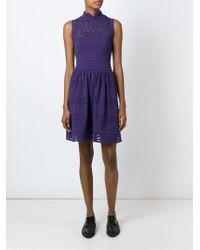M Missoni - Pink Sheer Crochet Dress - Lyst