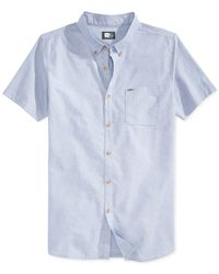 Rip Curl | Blue Our Time Short-sleeve Shirt for Men | Lyst