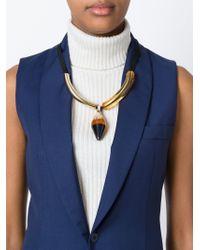 Marni - Orange 'runway' Necklace - Lyst