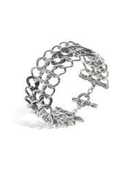 John Hardy | Metallic Classic Chain Round Link Wide Bracelet | Lyst
