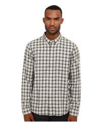 Jack Spade | Green Linfield Herringbone Check Work Shirt for Men | Lyst