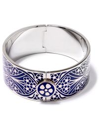 Liberty - Blue Navy Ianthe Solid Cuff - Lyst