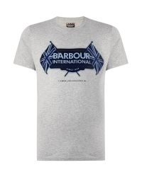 Barbour | Gray T-shirt for Men | Lyst