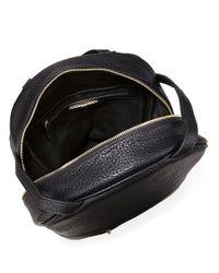 Kensie - Black Faux Leather Convertible Backpack - Lyst