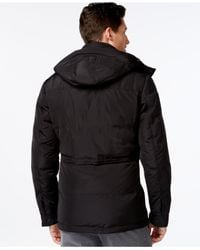 Michael Kors | Black Michael Big & Tall Libson Parka for Men | Lyst