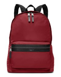 Michael Kors | Red Kent Lightweight Nylon Backpack for Men | Lyst