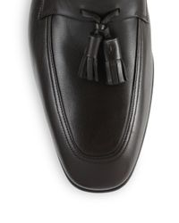 Ferragamo - Brown Loreno Tasseled Loafers for Men - Lyst