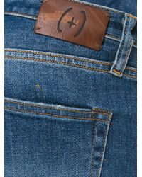 People - Blue Faded Jeans for Men - Lyst