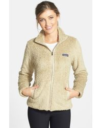 Patagonia | Natural 'los Gatos' Water Repellent Fleece Jacket | Lyst