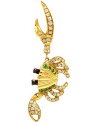Yvonne Léon | Metallic 18kt Gold Crab Earring | Lyst