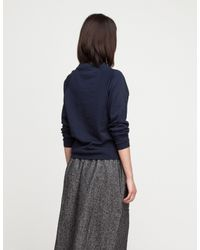 Baserange - Blue Basic Sweat In Navy - Lyst