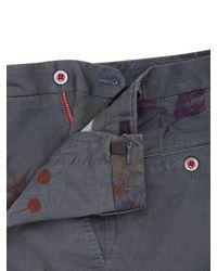 PT01 | Blue High Tech Stretch Bull Cotton Shorts for Men | Lyst