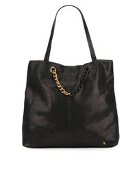 Elliott Lucca | Black Sof Leather Tote | Lyst