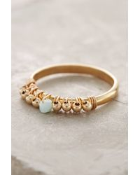 Anthropologie | Metallic Birthstone Stacking Ring | Lyst