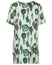TOPSHOP - Green Josephine Dress By Motel - Lyst
