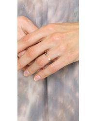 Pamela Love   Metallic Quantum Ring   Lyst