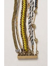 Anthropologie | Yellow Tempestad Layered Bracelet | Lyst