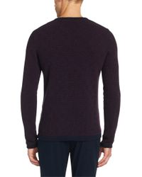 HUGO | Red Sweater In New Wool: 'sonuro' for Men | Lyst