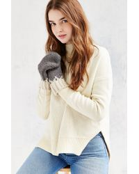 Urban Outfitters | Gray Pointy Arctic Mitten | Lyst