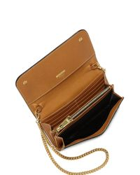 Moschino - Brown Looney Tunes Textured Faux Leather Chain Wallet - Lyst