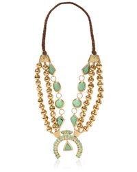 Aurelie Bidermann | Metallic Navajo Necklace | Lyst