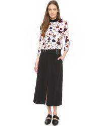 A.L.C. - Baker Skirt - Black - Lyst