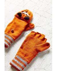 Urban Outfitters - Orange Kitsch Animal Convertible Glove - Lyst