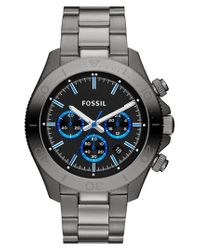 Fossil - Metallic 'retro Traveler' Chronograph Bracelet Watch for Men - Lyst