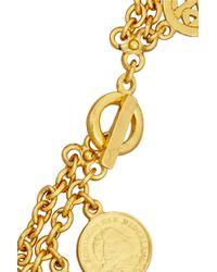 Ben-Amun - Metallic Moroccan Coin Gold-Plated Bracelet - Lyst