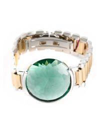 Delfina Delettrez - Green Timeless Bracelet - Lyst