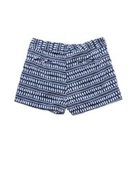 lemlem - Blue Cuffed Shorts - Lyst
