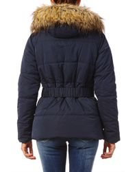 Pepe Jeans - Blue Quilted Jacket - Lyst