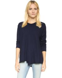Wilt - Blue Lux Slouchy Tee - Lyst