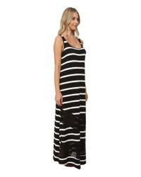 Kensie   Multicolor Light Weight Viscose Spandex Maxi Dress Ks6k7592   Lyst