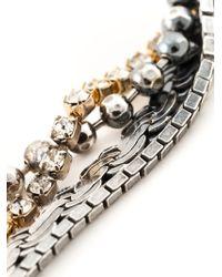 Puro Iosselliani - Metallic Tangled Pendant Earrings - Lyst