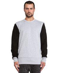 Zanerobe - Gray Penzance Sweatshirt for Men - Lyst