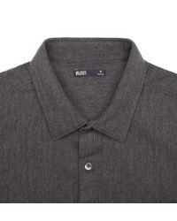 Onassis Clothing | Black Heather Herringbone Shirt for Men | Lyst