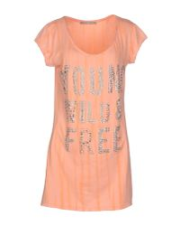 GAUDI - Pink Short Dress - Lyst